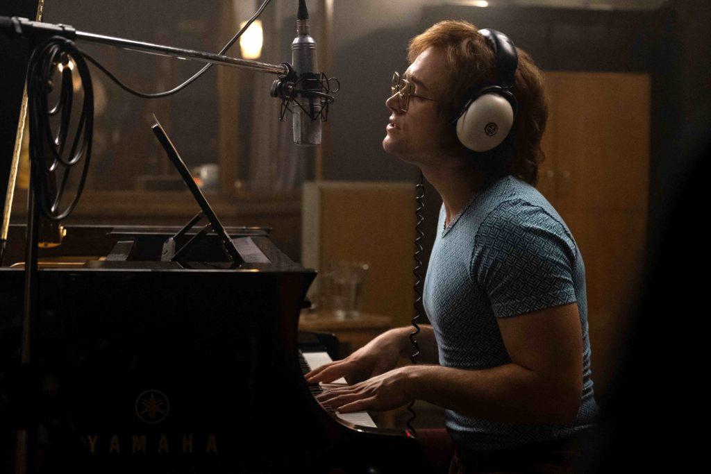 Ein Mann und sein Klavier: Taron Egerton als Elton John. © Paramount