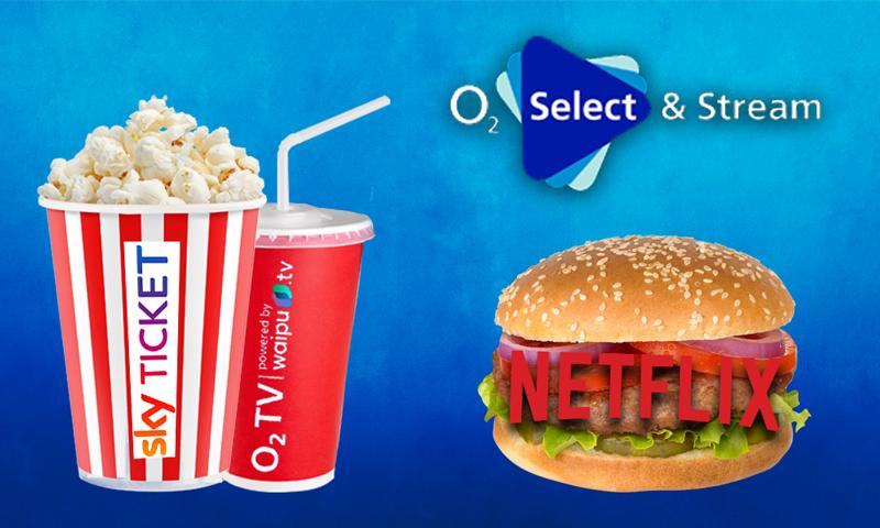o2-Kunden dürfen aktuell zwischen 12 Freimonaten Netflix, Sky oder o2 TV wählen. Bildquelle: o2 / Getty Images