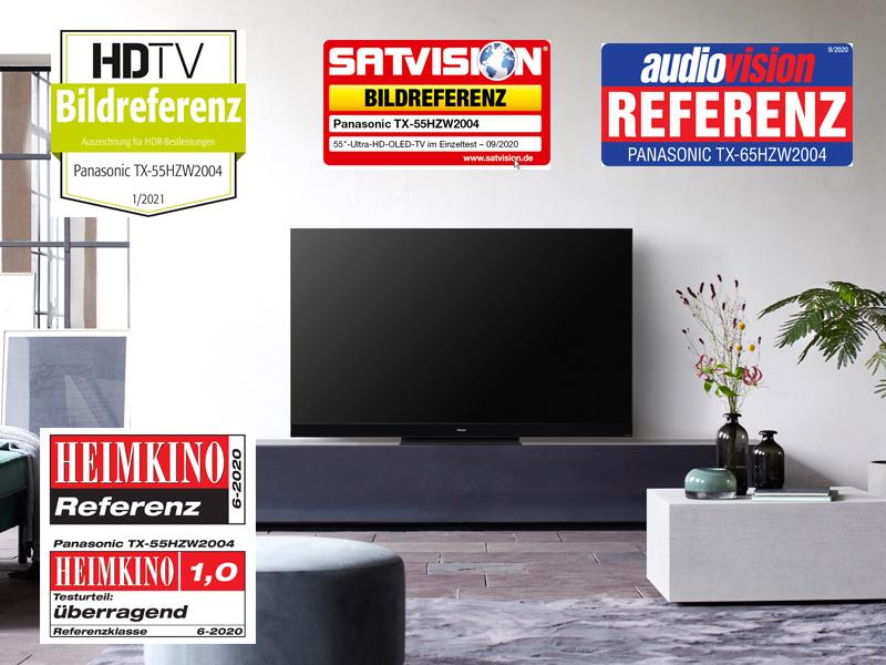 Die Fachpresse ist sich einig: Beim HZW2004 handelt es sich um einen Referenzfernseher. Aber auch der günstigere HZW984 steht dieser Leistung kaum nach. Bildquelle: Panasonic