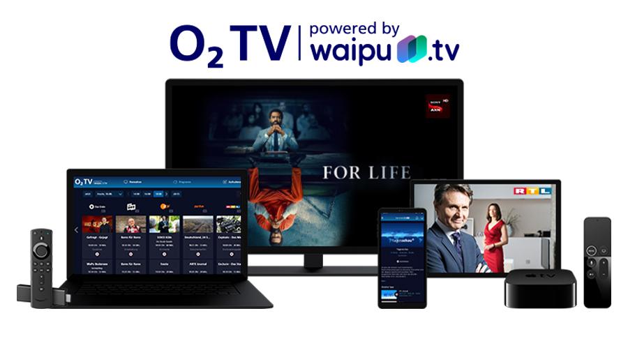 Die App läuft auf vielen Smart TVs, Smartphones, Tablets, Sticks, Notebooks und Apple TV. Bildquelle: o2