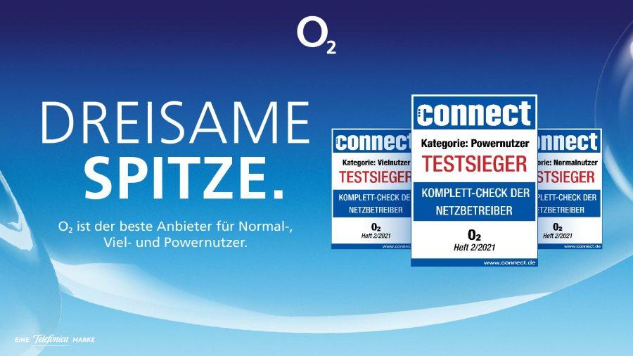 Laut connect hat o2 das beste Angebot für Normal- bis Power-User. Bildquelle: o2